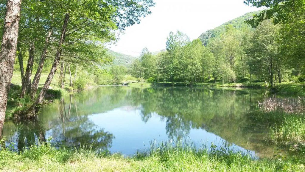 lac proche du camping la Marmotte en Ariège
