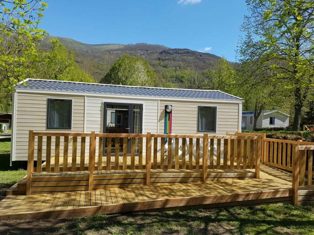 location de mobil home au camping dans les Pyrénées Ariégeoise