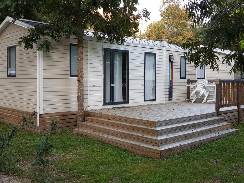 Location de mobil home au camping VACAF pres de Ax les Thermes