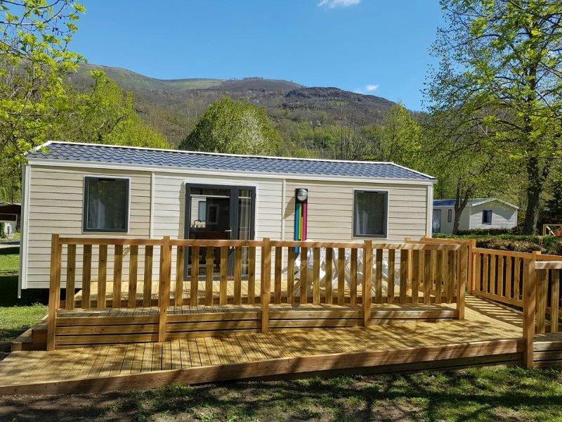Location vacances en mobil home au camping la Marmotte