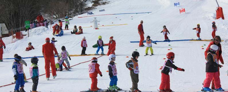 station de ski situé près du camping VACAF