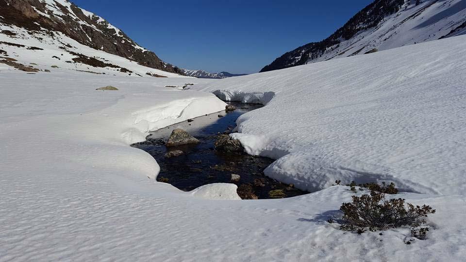 Station de ski près de Andorre